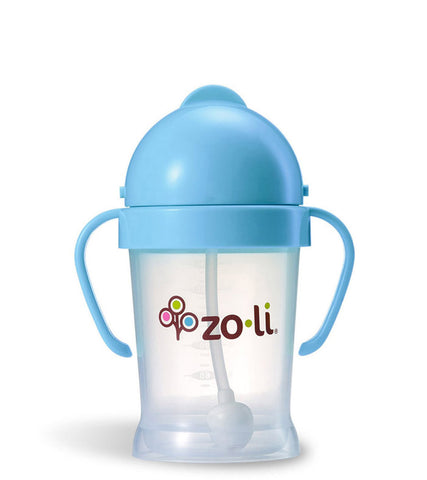 ZoLi Bot Straw Sippy Cup - Blue