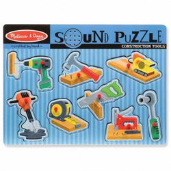 M&D Construction Tools Sound Puzzle