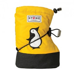 Stonz Booties Penguin Yellow