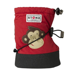 Stonz Booties Brick Red Monkey