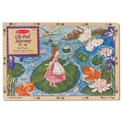 M&D Lily Pad Journey Wooden Jigsaw
