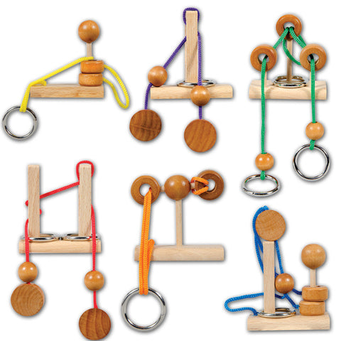 Brain Teaser Rope Puzzle