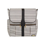 JJ Cole Diaper Bag Backpack - Black/Cream