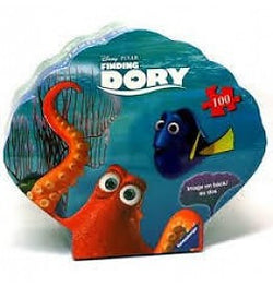 Finding Dory Shell Puzzle 100pc