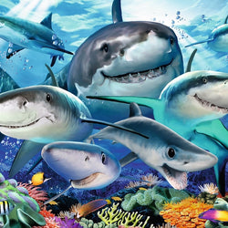 Ravensburger Smiling Sharks Puzzle 300pc