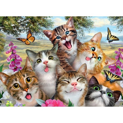 Ravensburger Friendly Felines Puzzle 200pc
