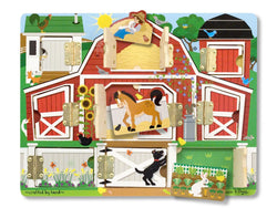 M&D Magnetic Hide and Seek Farm Board