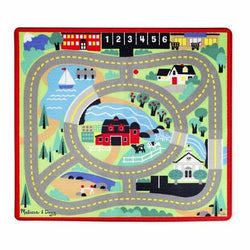 M&D Road Rug and Vehicle Set