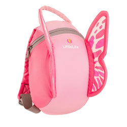 LittleLife Daysack with Rein - Butterfly