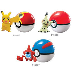 Pokemon Clip and Carry Pokeball - Assorted