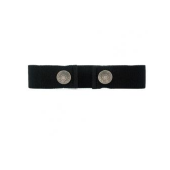 Dapper Snappers Toddler Belt - Black