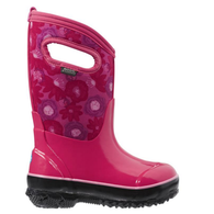 BOGS Winter Boots Classic Watercolour Magenta