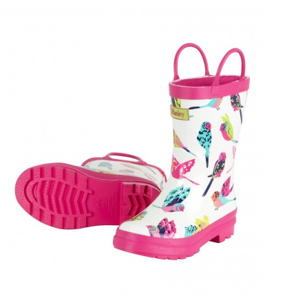 Hatley Classic Kids Rain Boot - Tropical Birds