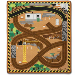 M&D Work Site Rug and Vehicle Set