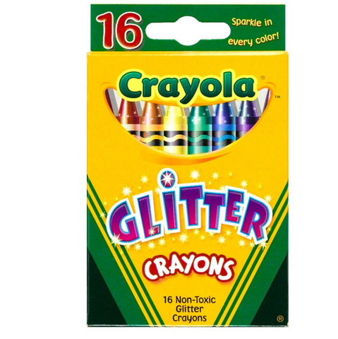 Crayola Crayons Glitter 16pack