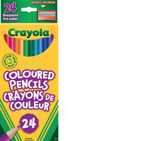 Crayola Coloured Pencils 24pack