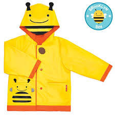 Skip Hop  Zoo Little Kid Raincoat - Bee