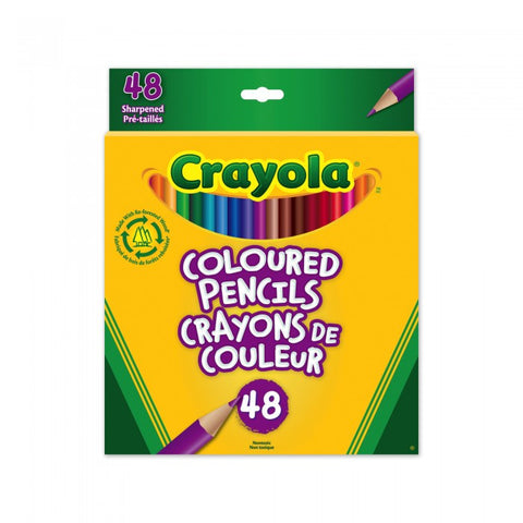 Crayola Coloured Pencils 48pack