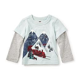 Tea Collection Hikari Graphic Baby Tee