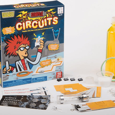 Be Amazing! Toys Simple Circuits Kit