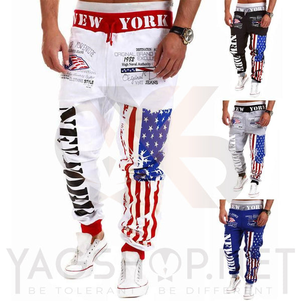 "Pantalon de jogging  ""NEW-YORK"" Style Street Fashion - YagShop.net - Pantalon Hommes"