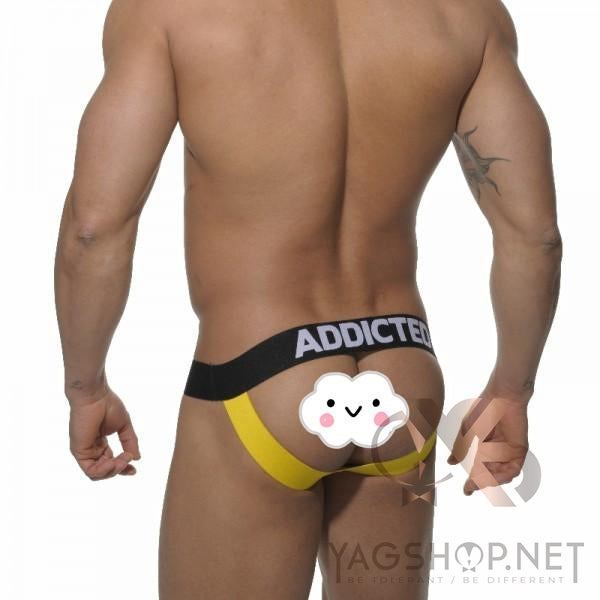 ADDICTED Jock-Strap en coton ULTRA SEXY pour hommes New Fashion Design - YagShop.net - Jock-Strap Hommes