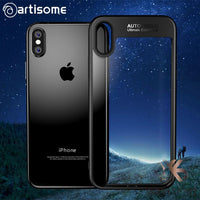 Superbe Coque pour iPhone X Fashion Ultra Slim  transparent - YagShop.net - Coque Hommes