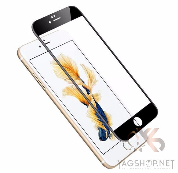"Ecran de protection Iphone complet ""Glossy 3D Curved"" - YagShop.net - Coque Hommes"