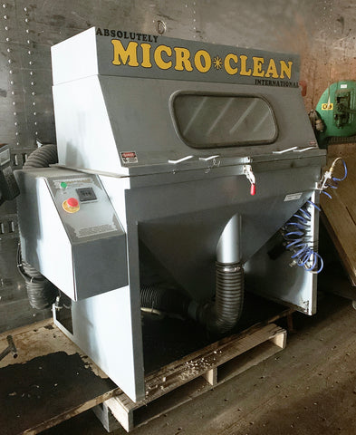 Micro Clean Media Roll Cleaner & Dust Collector