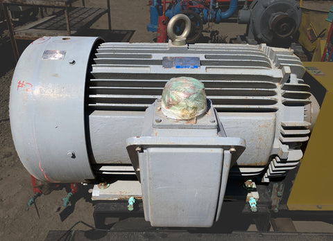 Teco-Westinghouse MAX-E1 300 HP Premium Efficiency Severe Duty Motor