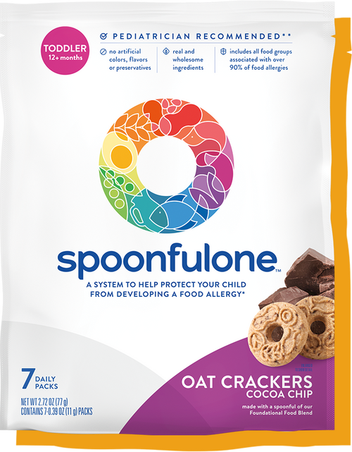SpoonfulOne Oat Crackers