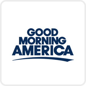 Good Morning America logo that links to GMA article