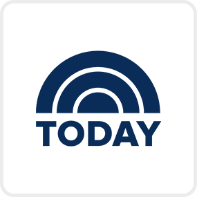 Today Show logo on a blue background. Links to a Today Show article.