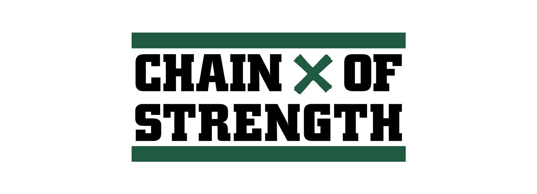 Official Chain Of Strength band merch only available on allinmerch.com