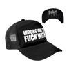 DYING FETUS WRONG ONE TRUCKER HAT