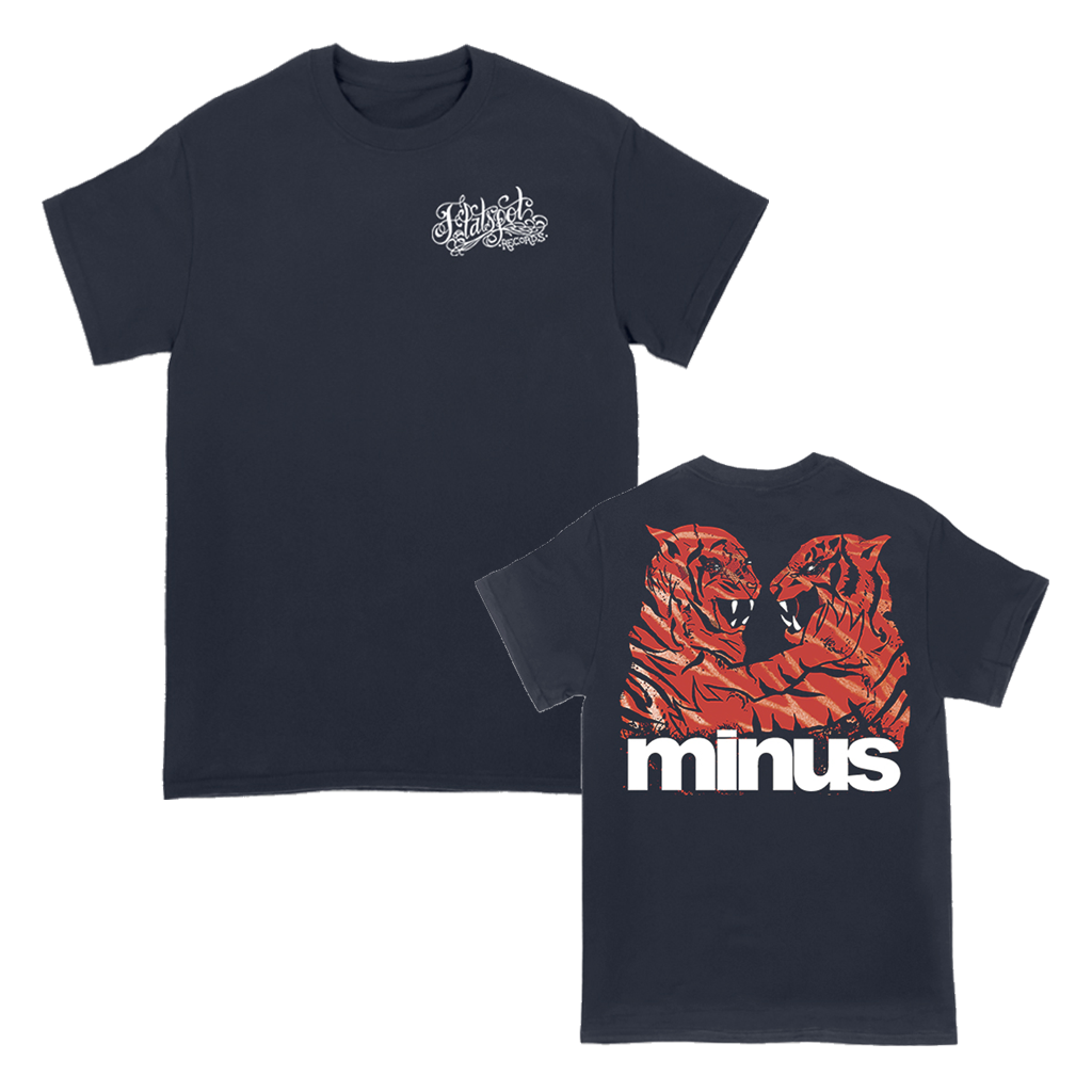 FSR MINUS TIGERS TEE ON NAVY
