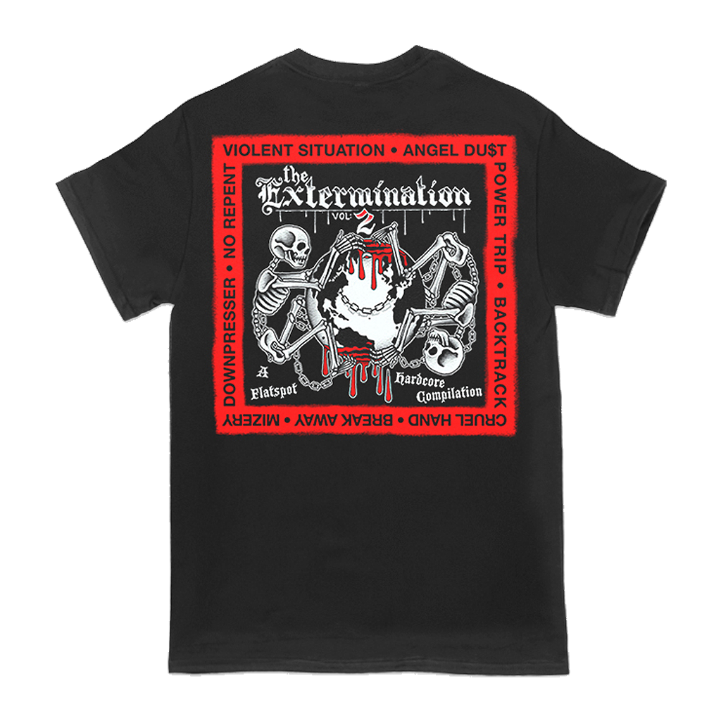 FLATSPOT RECORDS THE EXTERMINATION VOL 2 TEE