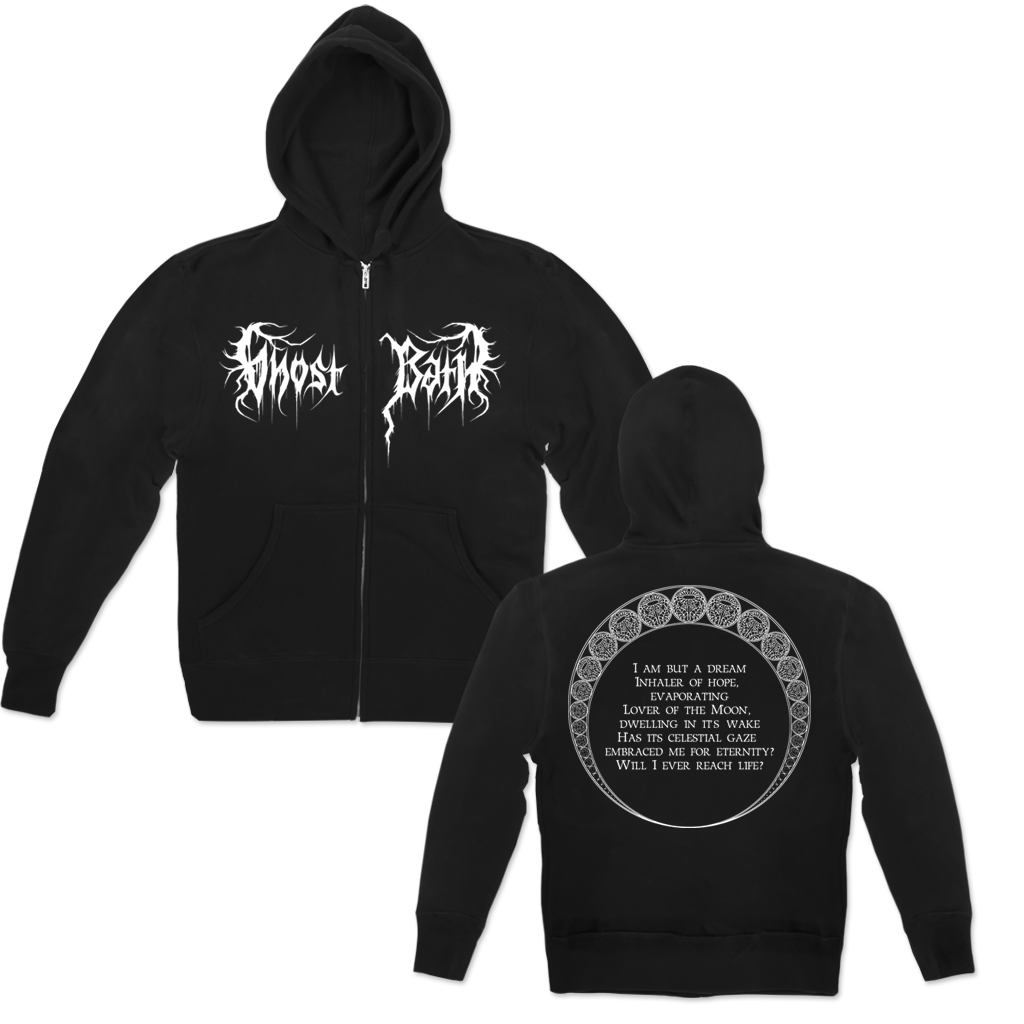 GHOST BATH DREAM ZIP HOOD