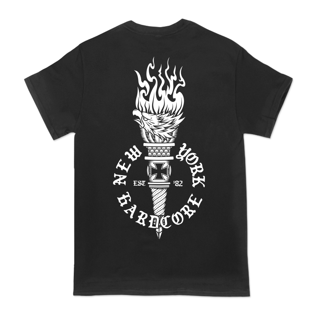 AGNOSTIC-FRONT-EAGLE-TORCH-TEE
