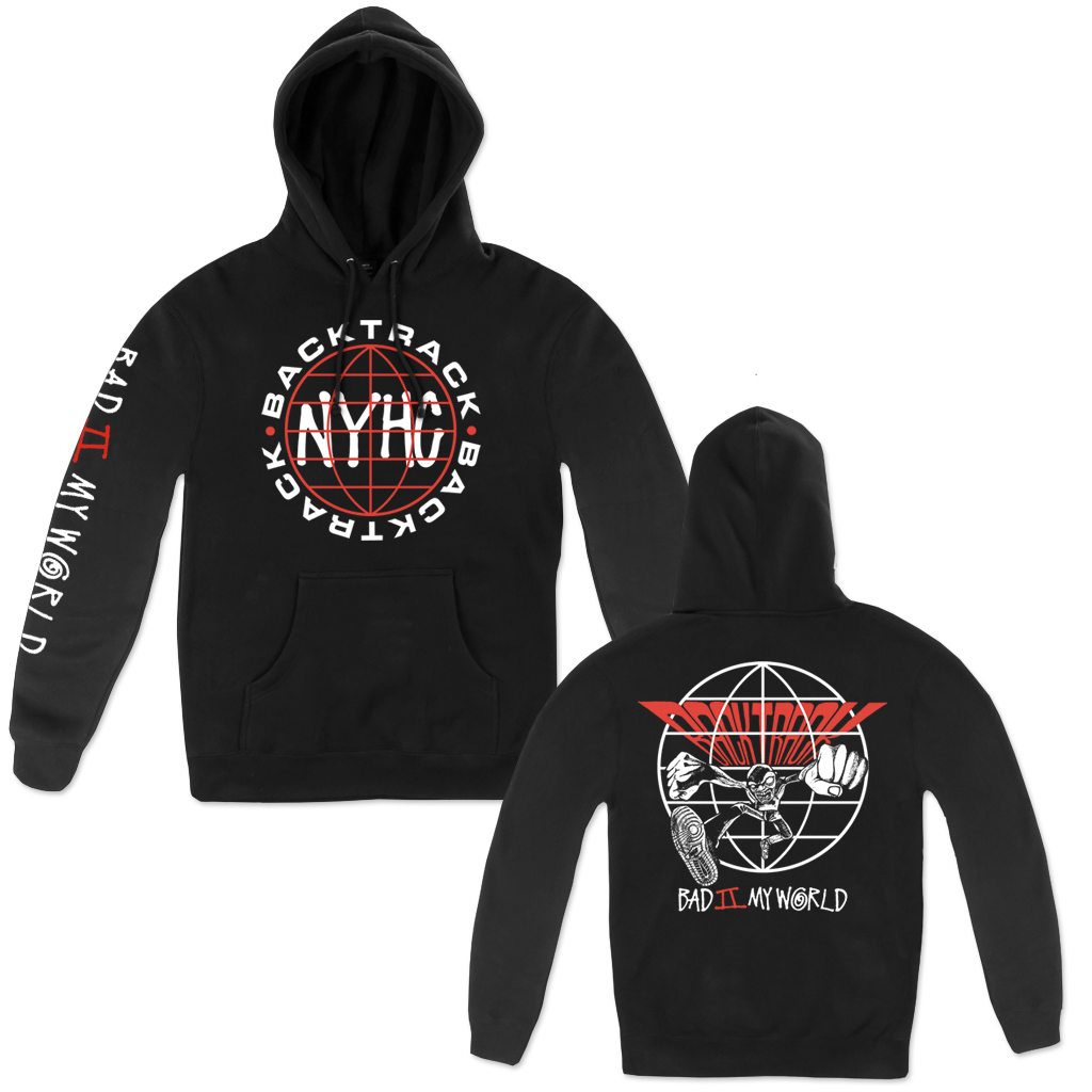 BACKTRACK BAD GLOBE OUTLINE PULL HOOD