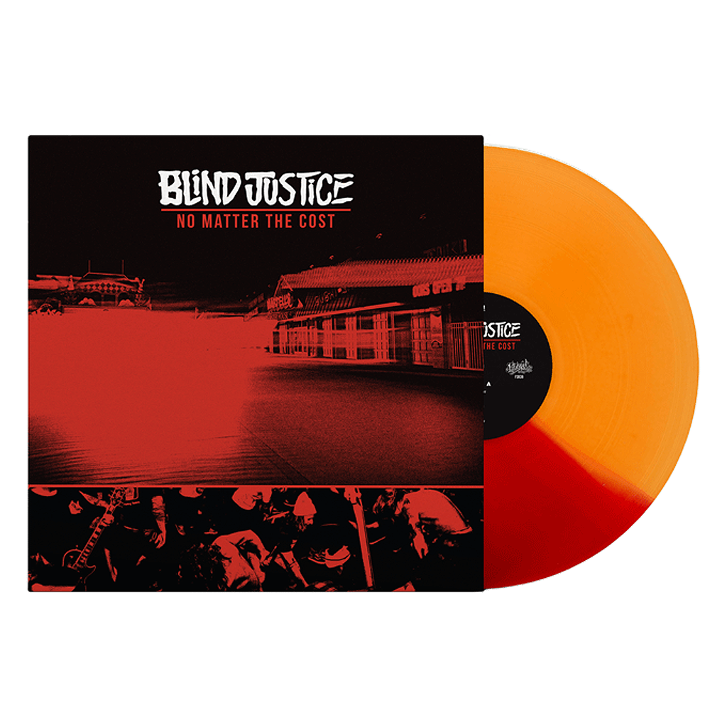 BLIND JUSTICE NO MATTER THE COST LP