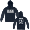 CHAIN OF STRENGTH TRUE TILL DEATH PULL HOOD ON NAVY
