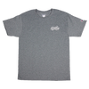 FLATSPOT RECORDS EMBROIDERED LOGO TEE
