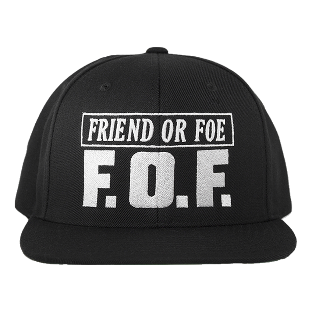 FLATSPOT RECORDS FRIEND OR FOE SNAPBACK