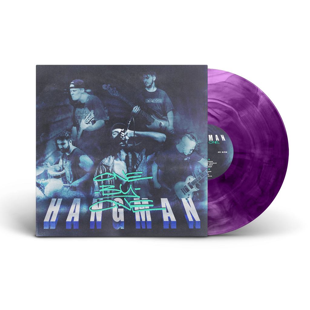 HANGMAN ONE BY ONE LP GALAXY PURPLE