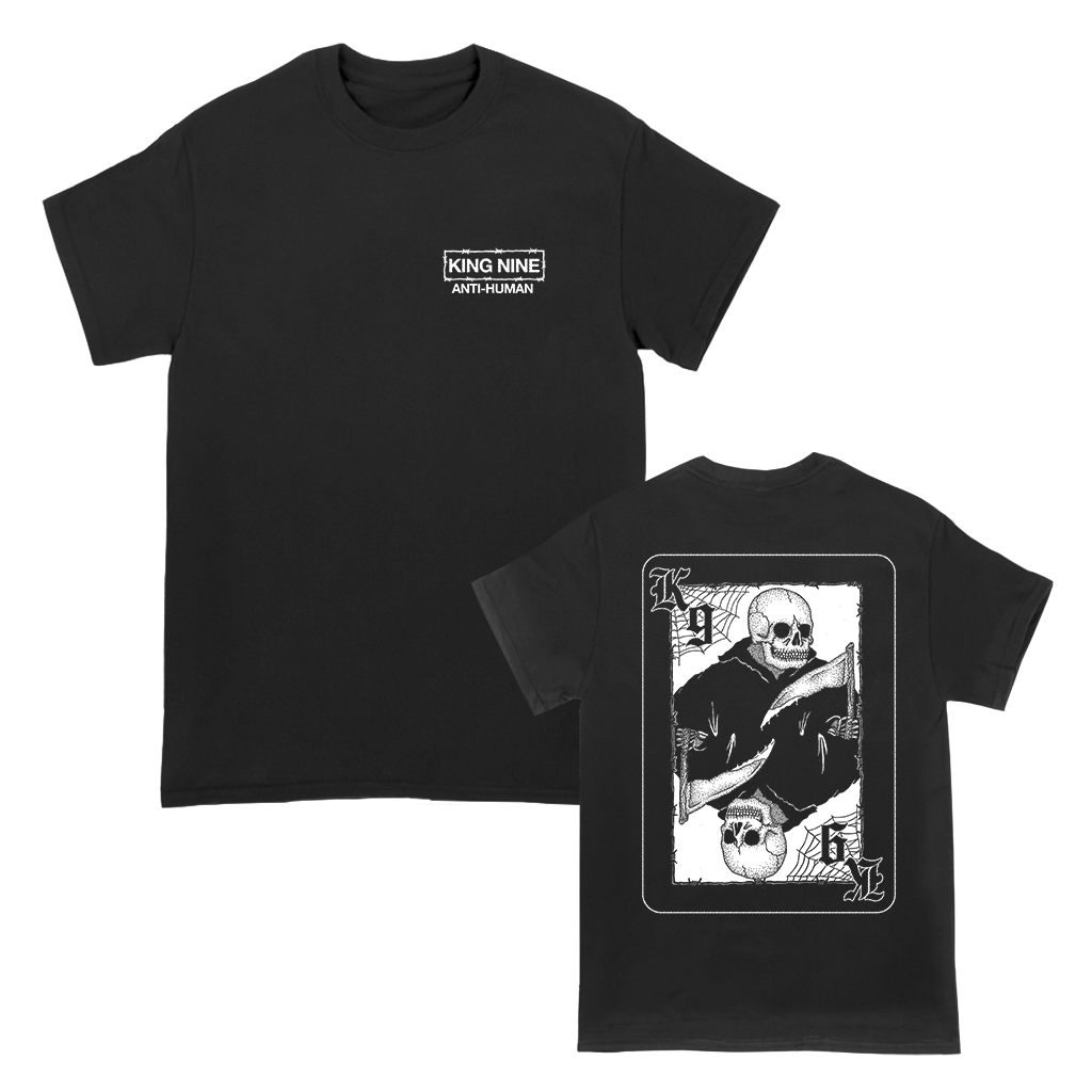 KING NINE DEAD CARD TEE