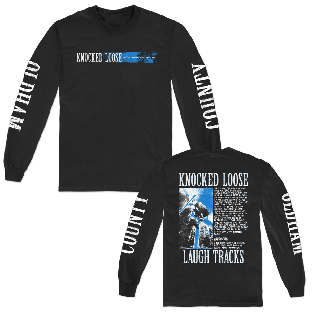 KNOCKED LOOSE BILLY NO MATES LONG SLEEVE