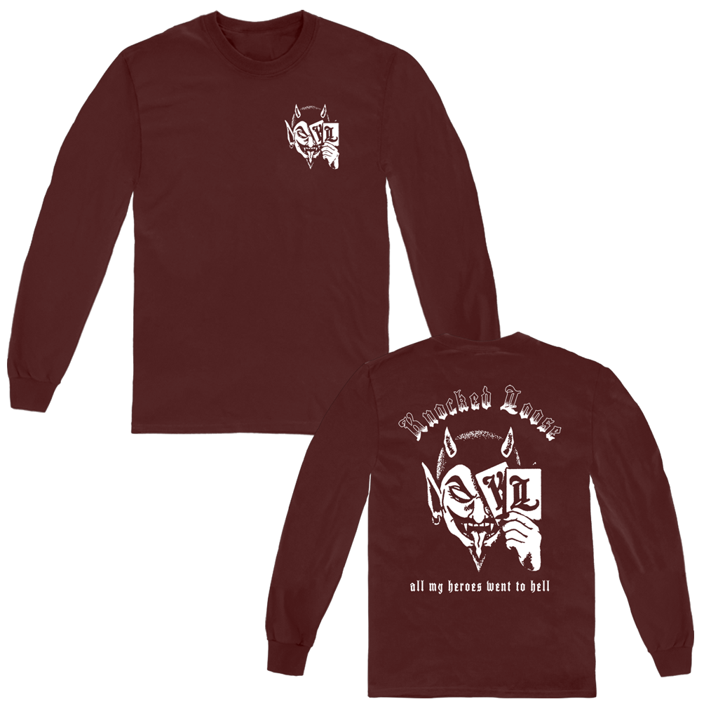 KNOCKED LOOSE DEVIL CARD LONG SLEEVE