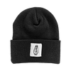LORNA SHORE COFFIN PATCH BEANIE