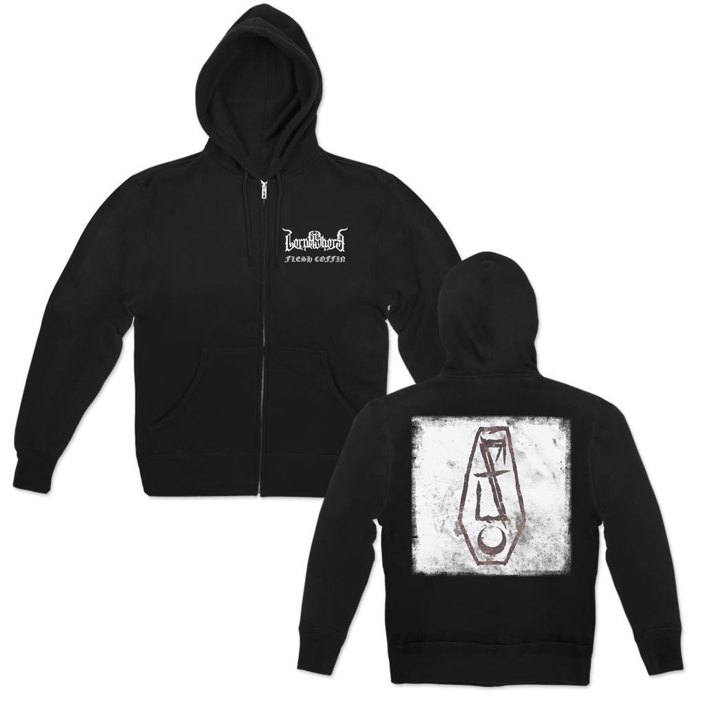 LORNA SHORE FLESH COFFIN ZIP HOOD